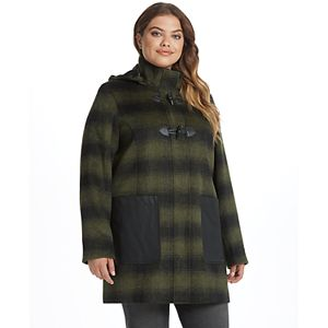 Women's Weathercast Midweight Mixed Media Toggle Coat