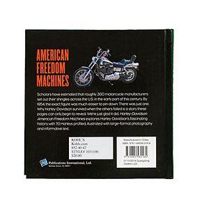 PIL Harley-Davidson: American Freedom Machines Book