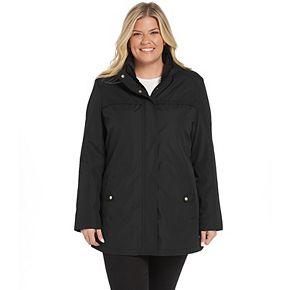 Women's Weathercast Hooded Bonded Rain Anorak