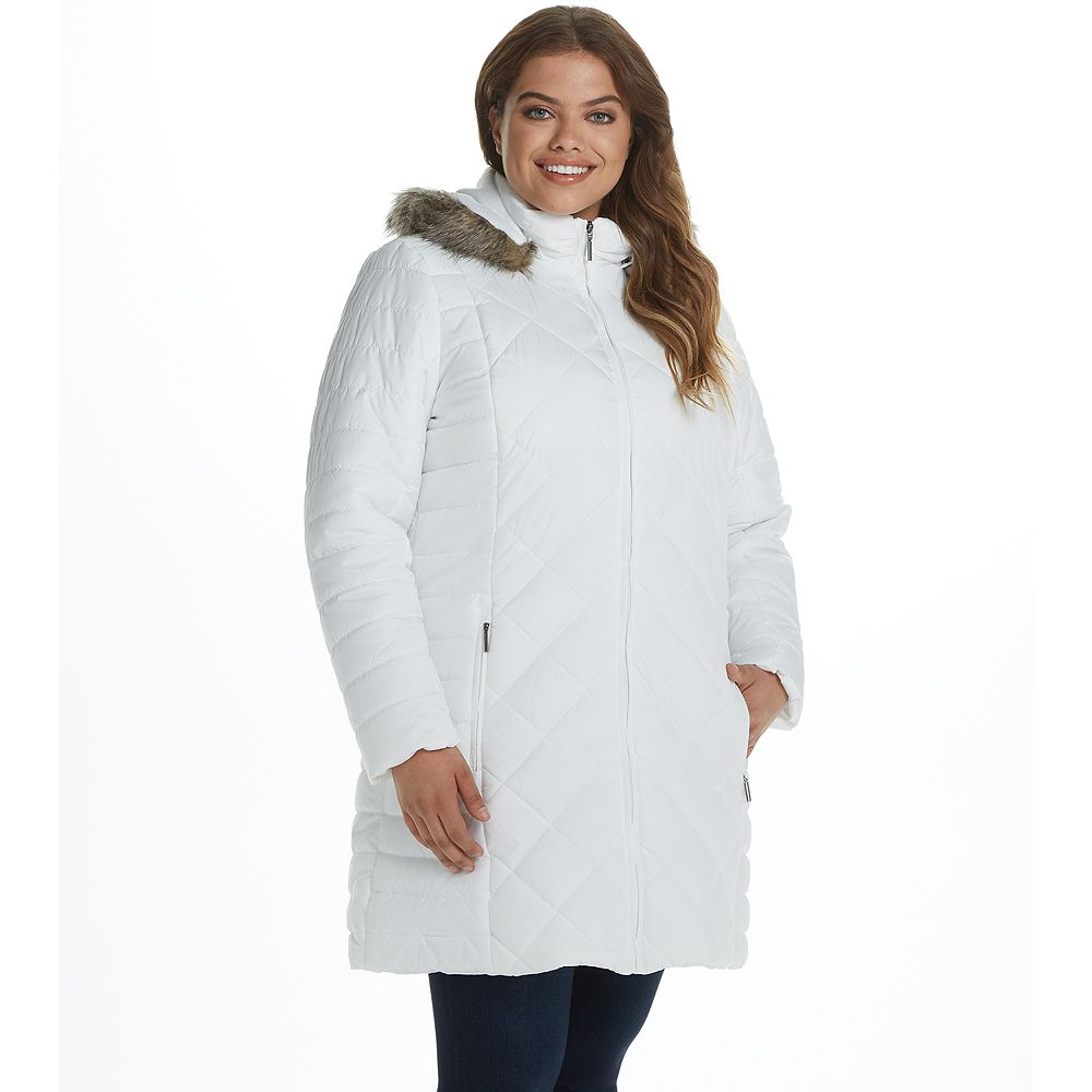 Women's Weathercast Heavyweight Mixed Quilted Puffer Jacket