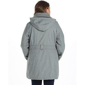 Women's Weathercast Hooded Midweight Soft Shell Walker Jacket