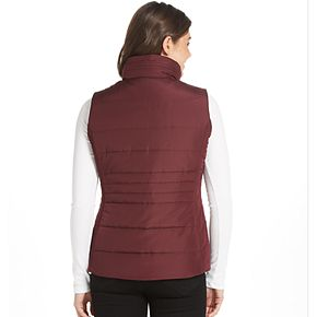 Women's Weathercast Puffer Vest Midweight Puffer Vest