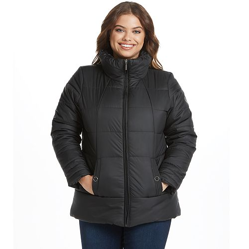 Women's Weathercast Heavyweight Shaped Puffer Jacket