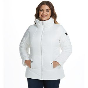 Women's Weathercast Heavyweight Shaped Puffer Jacket
