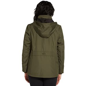 Women's Weathercast Hooded Midweight Shaped Jacket