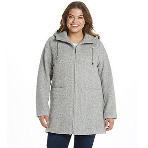 Women's Weathercast Hooded Midweight Walker Jacket