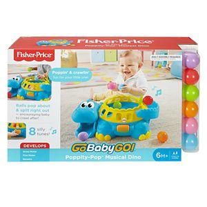 Fisher-Price Go Baby Go! Poppity Pop Musical Dino