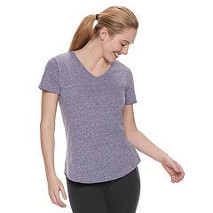 Women's Tek Gear® Essential V-Neck Short Sleeve Tee