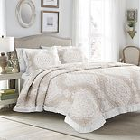 Lush Decor Lucianna Ruffle Edge Cotton Bedspread 3-Piece Set