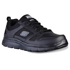 8083b55f7665c Skechers Relaxed Fit Flex Advantage Men s Slip-Resistant Work Shoes