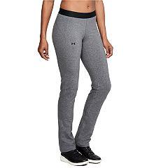 Women's Under Armour Favorite Mid-Rise Straight-Leg Workout Pants
