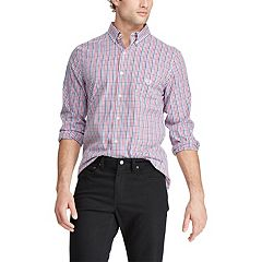 Men's Chaps Classic-Fit Stretch Easy-Care Button-Down Shirt