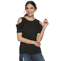 Women's Juicy Couture Ruffle-Shoulder Top