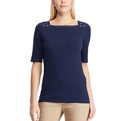 c4cae7bb Women's Chaps Square Neck Top