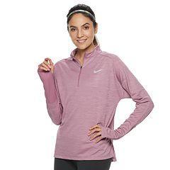 Women's Nike Pacer Long Sleeve 1/2-Zip Running Top