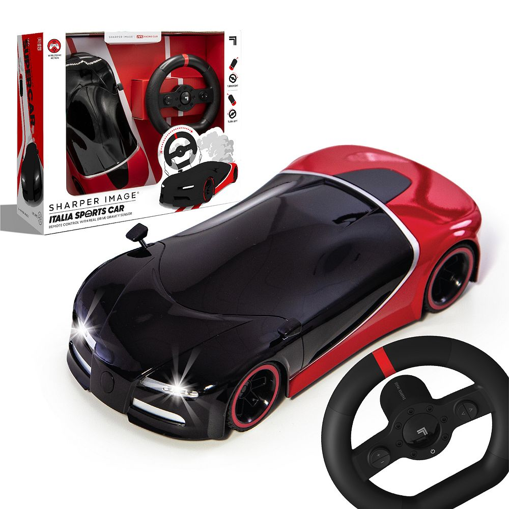 Sharper Image Italia Racer Motion Sensor Control RC Sports Car