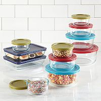 2-Pack Pyrex Simply Store 22-pc Food Storage Set