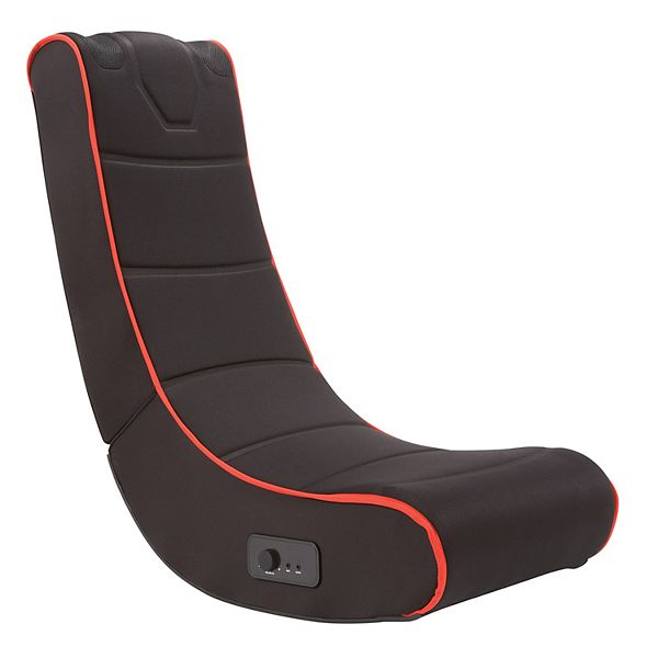 Sharper Image Foldable Gaming Chair with Onboard Speakers