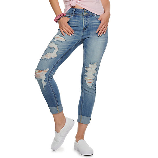 ff9c15dd1a778 Womens Distressed Jeans - Bottoms, Clothing | Kohl's