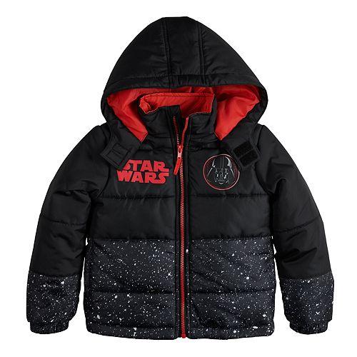Boys 4-7 Star Wars Puffer Jacket