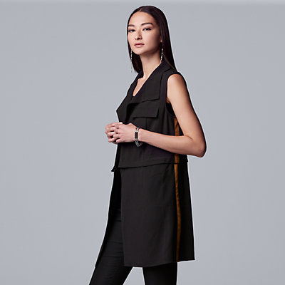 Women's Simply Vera Vera Wang Zip Away Vest
