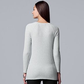 Women's Simply Vera Vera Wang Tie Front Pullover