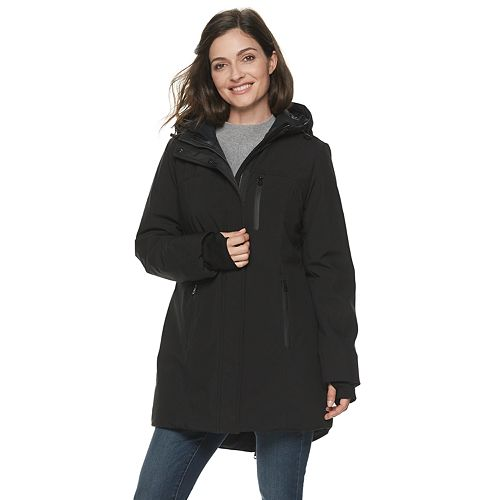 Women's Sebby Collection Hooded Heavyweight Jacket