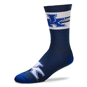 Men's For Bare Feet Kentucky Wildcats First String Crew Socks