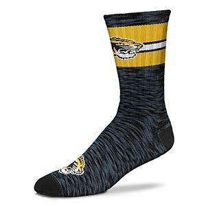 Men's For Bare Feet Missouri Tigers First String Crew Socks