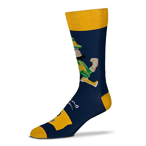 Adult Notre Dame Fighting Irish Flag Crew Socks