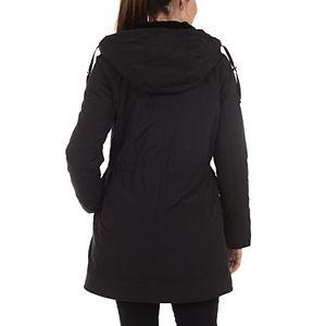 Women's Fleet Street Faux-Fur Hooded Midweight Anorak Jacket