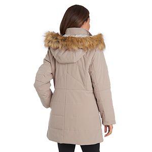Women's Fleet Street Faux-Fur Hooded Quilted Puffer Jacket