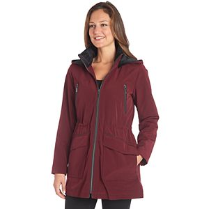 Women's Fleet Street Hooded Midweight Anorak Jacket