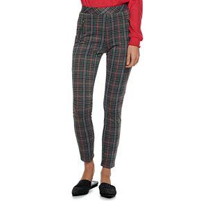 Juniors' Joe B Double Knit Skinny Pants