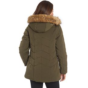 Women's Fleet Street Quilted Faux Silk Jacket