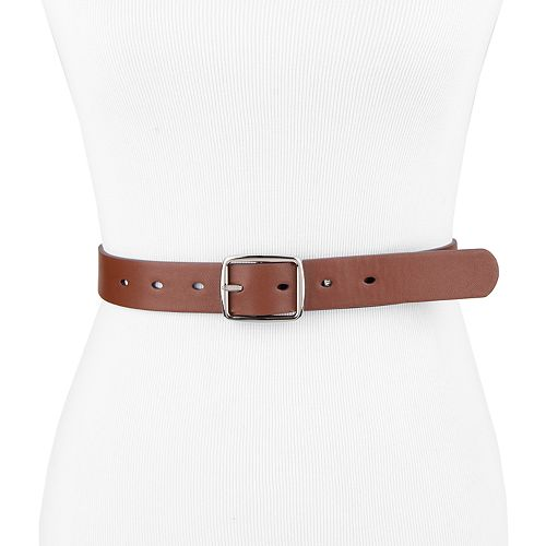 Women's & Plus Chaps Casual Reversible Belt
