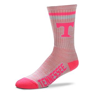 Women's For Bare Feet Tennessee Volunteers Pretty in Pink Crew Socks
