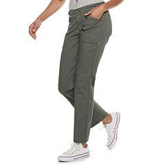 f08c8ff81b Juniors' Unionbay Alexi Stretch Light Weight Twill Ankle Pants