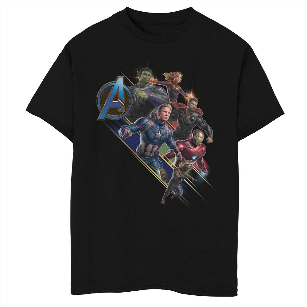 Boys 8-20 Marvel's Avengers Assemble Tee