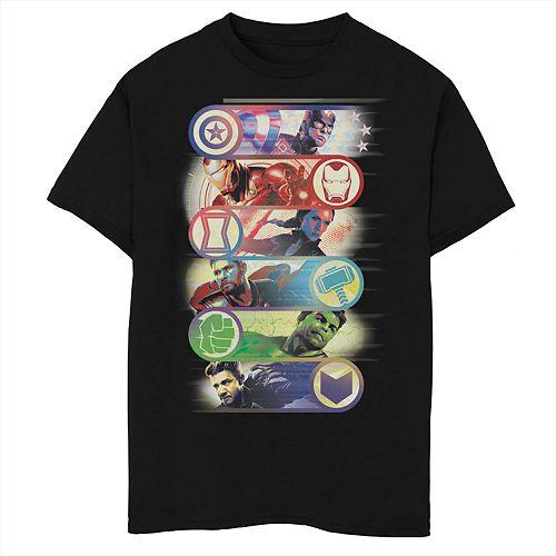 Boys 8-20 Marvel's Avengers Group Badge Tee