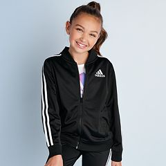 d2cb73eef Girls 7-16 adidas Tricot Bomber Jacket