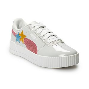 PUMA Carina Glitz Hearts Jr Girls' Sneakers