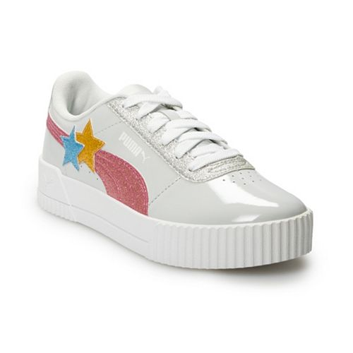 PUMA Carina Glitz Hearts Jr Girls' Sneakers
