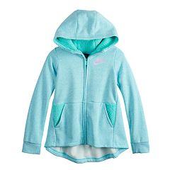 Girls 7-16 Nike Full Zip Sherpa Hoodie