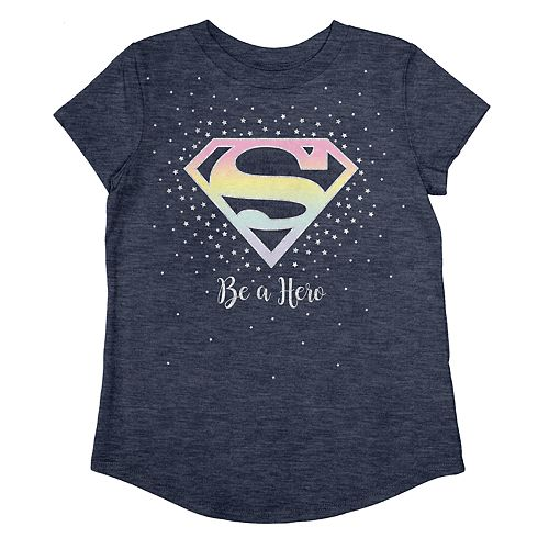 Girls 4-12 Jumping Beans® DC Comics Super Girl Shield Graphic Tee