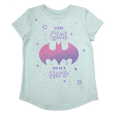 Girls 4-12 Jumping Beans® DC Comics Batgirl Glittery Graphic Tee