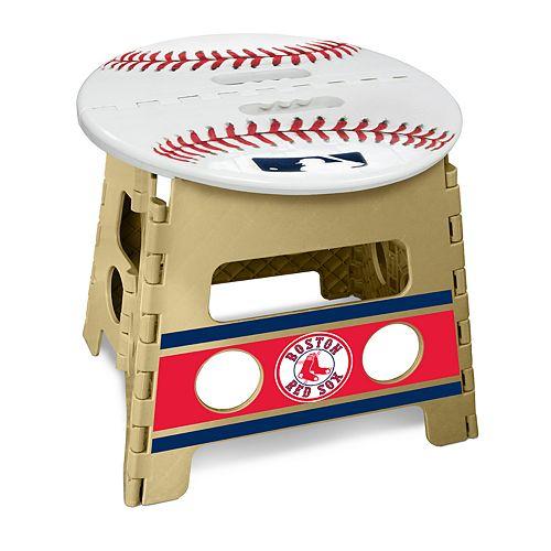 Brilliant Boston Red Sox Folding Step Stool Ibusinesslaw Wood Chair Design Ideas Ibusinesslaworg