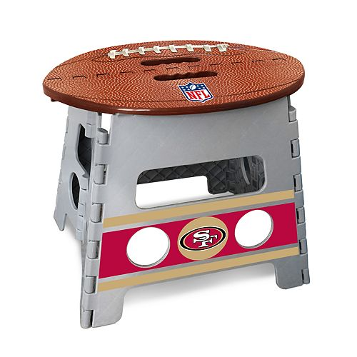 Awesome San Francisco 49Ers Folding Step Stool Pdpeps Interior Chair Design Pdpepsorg