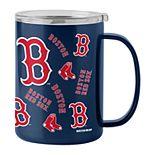 MLB Boston Red Sox 15oz Stainless Steel Sticker Ultra Mug