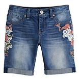 Girls 7-16 Mudd® Bermuda Jean Shorts